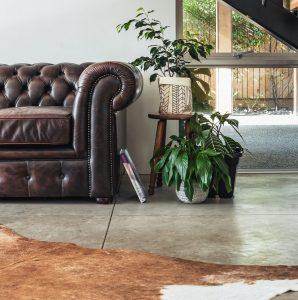 How to paint concrete flooring